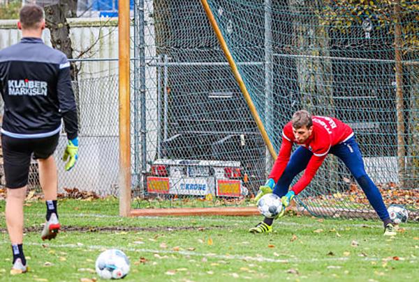 Markus Miller im Training