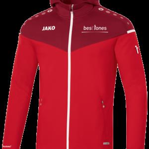 Trainingsjacke in Rot